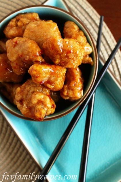 Jared's General Tso's Chicken