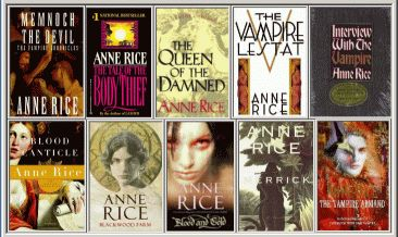 The Vampire Chronicles - Anne Rice