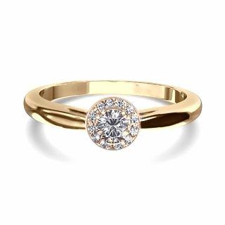 Anel Solitário de Ouro Amarelo e Diamantes - PASSION :: JOIAS & ALIANÇAS EM OURO | VERSE Joaillerie | Descubra o real significado de ser único e exclusivo.
