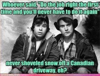 Only in Canada eh?