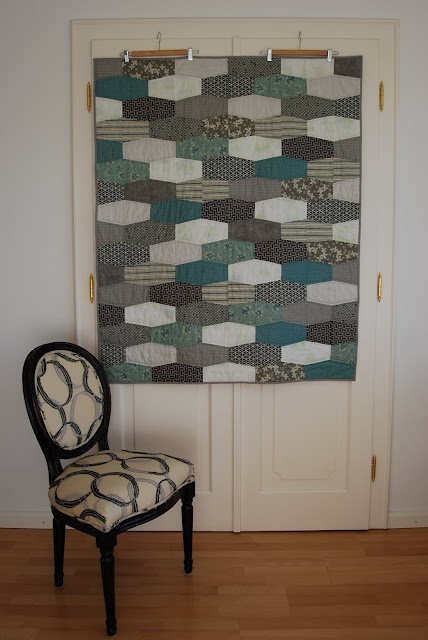 Alternate orientation for a tumbler quilt