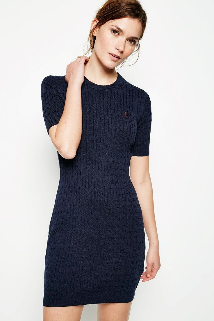 KNOWLDEN CABLE KNITTED DRESS | JackWills UK