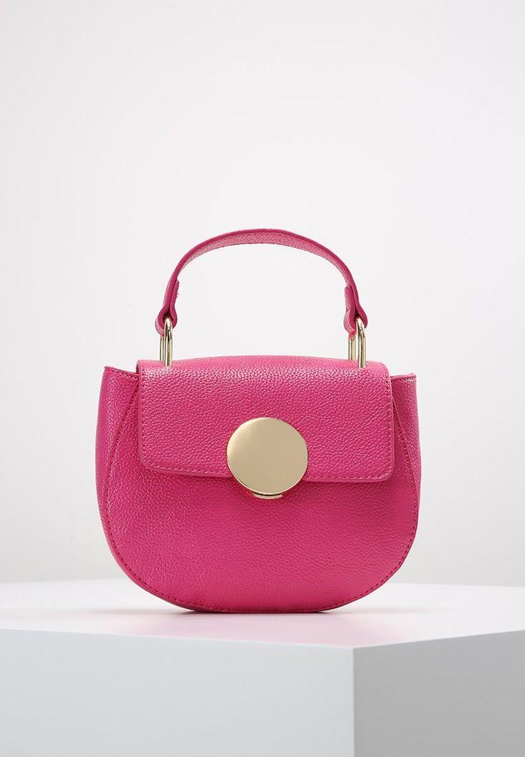 Missguided ROUND BUCKLE DETAIL - Handtasche - pink - Zalando.de