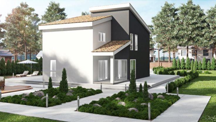 49 best images about casas de entramado ligero donacasa on - Casas entramado ligero ...
