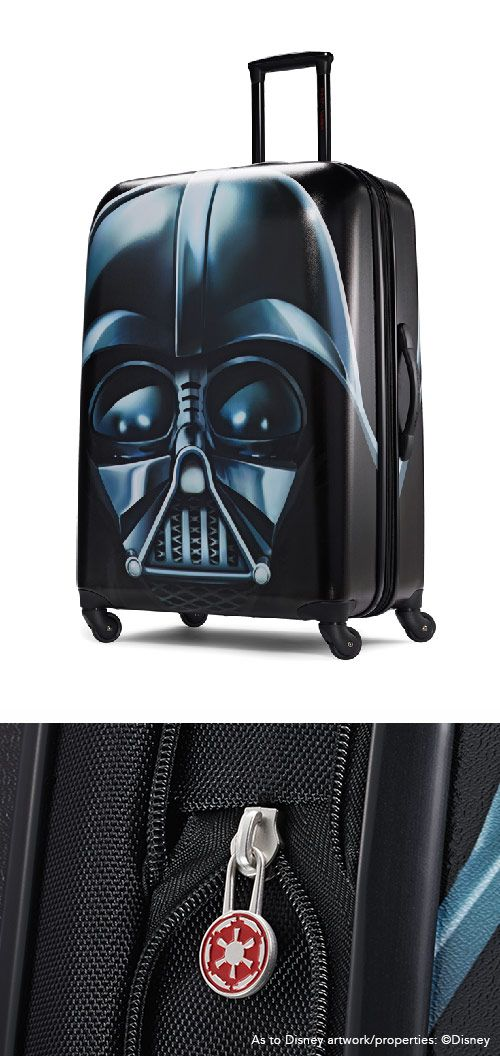 "Darth Vader Luggage 21"" and 28"" from American Tourister: The official luggage of Walt Disney World Resort and Disneyland"