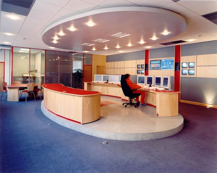 Commercial Office Design Ideas creative idea office interior design ideas perfect decoration like the pop of color separating these cubes Office Design Designer Offices For Modern Office Zeospotcom