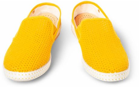Rivieras Cotton Slipon Shoes in Yellow for Men | Lyst