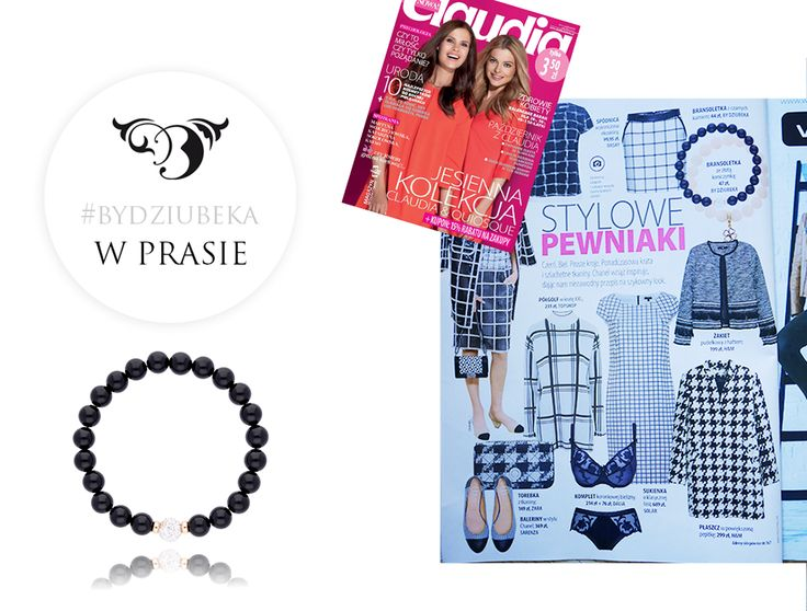 By Dziubeka w Claudii <3 #bydziubeka #jewerly # #fashion #style #magazine #pressroom #press