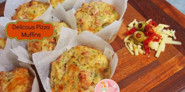 Delicious Pizza Muffins | Stay at Home Mum