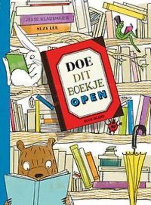 // Jesse Klausmeier - Doe dit boekje open // Boek voor wie graag een boekje opendoet. En dan nog één. En dan nog één.