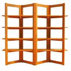 Sun Teak # 5010 Book Shelves / Room Divider | Teak Furniture