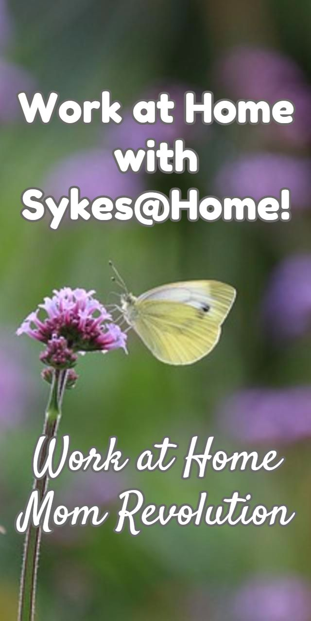 Work at Home  with Sykes@Home! / Work at Home Mom Revolution