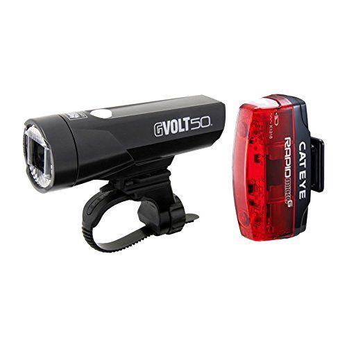 Cateye Light Kit GVolt 50 HLEL550GRC  Rapid Micro G HlEL620G *** Click on the image for additional details.