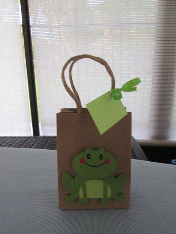 Hey, I found this really awesome Etsy listing at https://www.etsy.com/listing/201029175/frog-favor-bags-froggie-party-bags