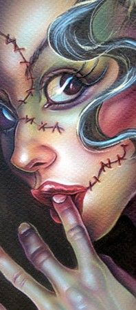 ✯ Artist Joe Capobianco ✯ one of my favorite artist. Love the style of his girls.