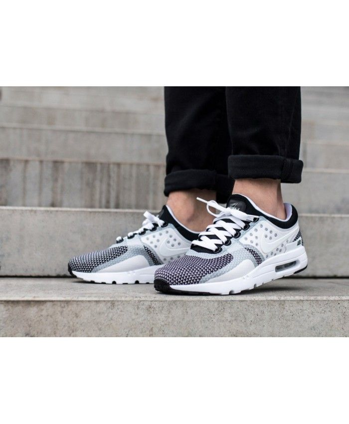 Air Max Zero Essential White Black Wolf Grey Mens Cheap Sale