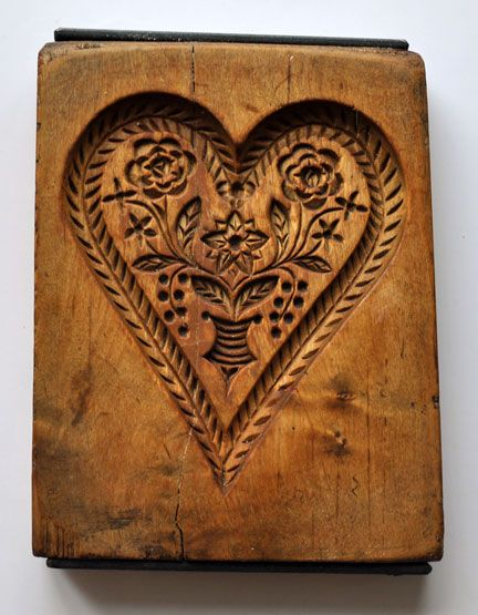 .: Wooden Heart, Beautiful Heart, Wood Carving