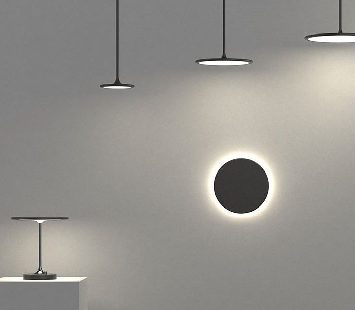 "Light fixtures designed with the ""less is more"" mindset"