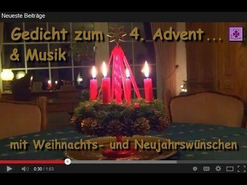 FreyaGlücksweg140 - Gedicht zum 4. Advent, frohe Weihnachten + guten Rutsch ....................................................... Advent, Video, vierter Advent, Adventskranz, Adventskranzkerzen, Gedicht, Gedichte, Adventszeit, Advents-Gedichte, Advents-Gedicht, Reime, Verse, Lyrik, Adventsgedicht, Adventsgedichte, 4. Advent, 4. (vierter) Adventssonntag / Advents-Sonntag, Wünsche zum 4. (vierten) Advent, frohe Weihnachten, besinnliche Raunachtzeit, und guten Rutsch in ein frohes neues Jahr,