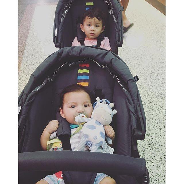 Thanks @danlyn.kassiou  #abcdesign #zoom #abcdesign_zoom #zoommoments #thinkbaby #doublebuggy #tandem #pram #twins #siblings #baby #geschwisterwagen #zwillingswagen #kinderwagen #doppeltesglück #familie #family #familienglück #spazierfahrtzuweit #zuzweit #doublehappiness #weloveourstroller #ontour #wearefamily #two #littleones