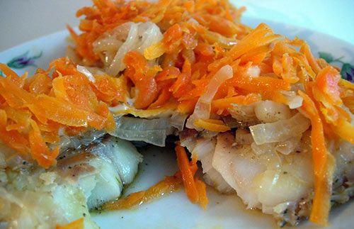Рыба с сыром под маринадом |