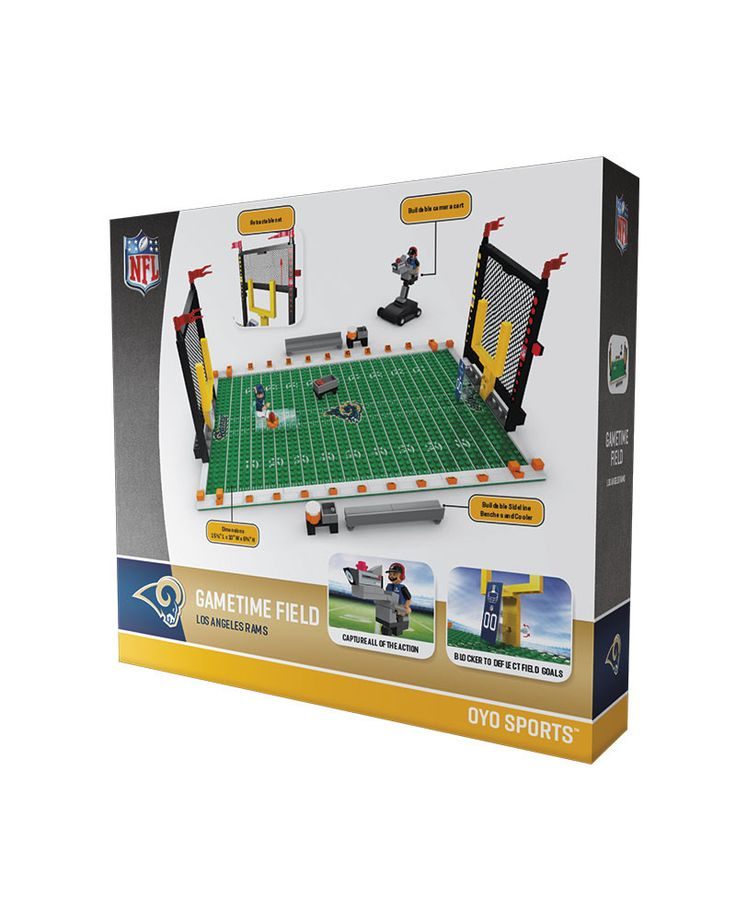 Los Angeles Rams Football Team Gametime Set 2.0 OYO Playset