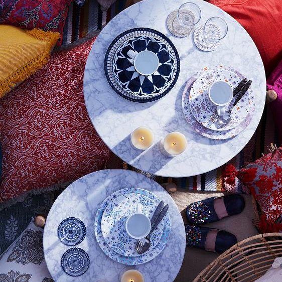 フランフラン 17年夏の新作は「地中海」がテーマ、「モロッコ」を感じる食器やルームフレグランスなど | ファッションプレス