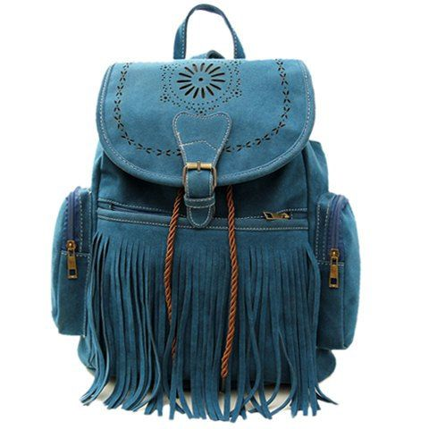 Hey, I found this really awesome Etsy listing at https://www.etsy.com/listing/220096101/deco-blue-fringe-boho-hippie-backpack