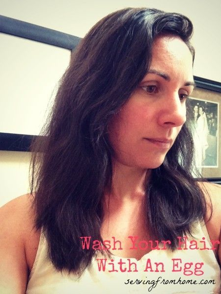 Wash Your Hair With An Egg. Rye Flour and coffee