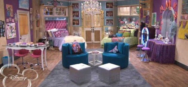 The room every girl wished she had... Hannah Montana's room