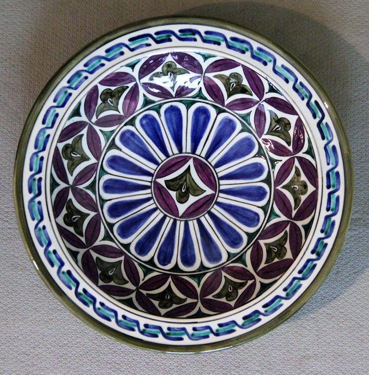 Modern Ceramics Tableware Plates Licence Plates Dinnerware