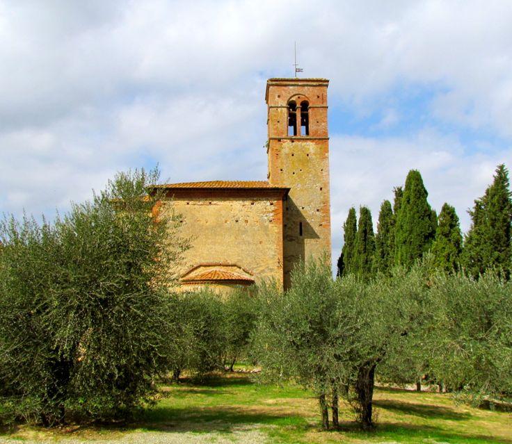 Sant'Anna in Camprena, Italy