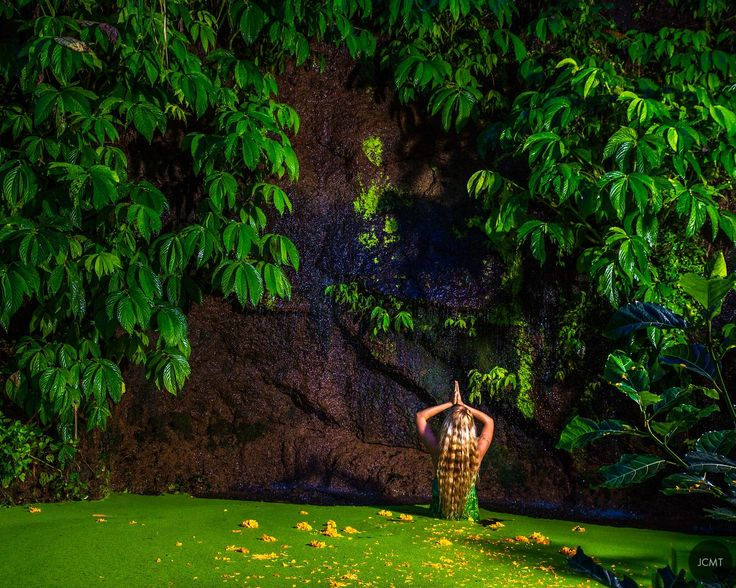 Ubud, Woman in nature, Bali, by JCMT agency