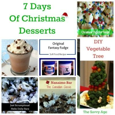 Desserts are dear to my baking heart! Easy to make, some no bake is the Christmas Dessert Collection. Perfect for the Christmas dessert table.