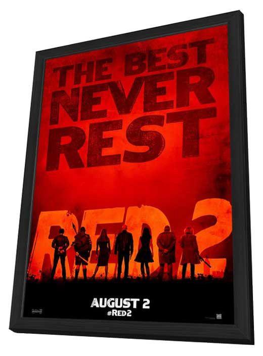 RED 2 11x17 Framed Movie Poster (2013)