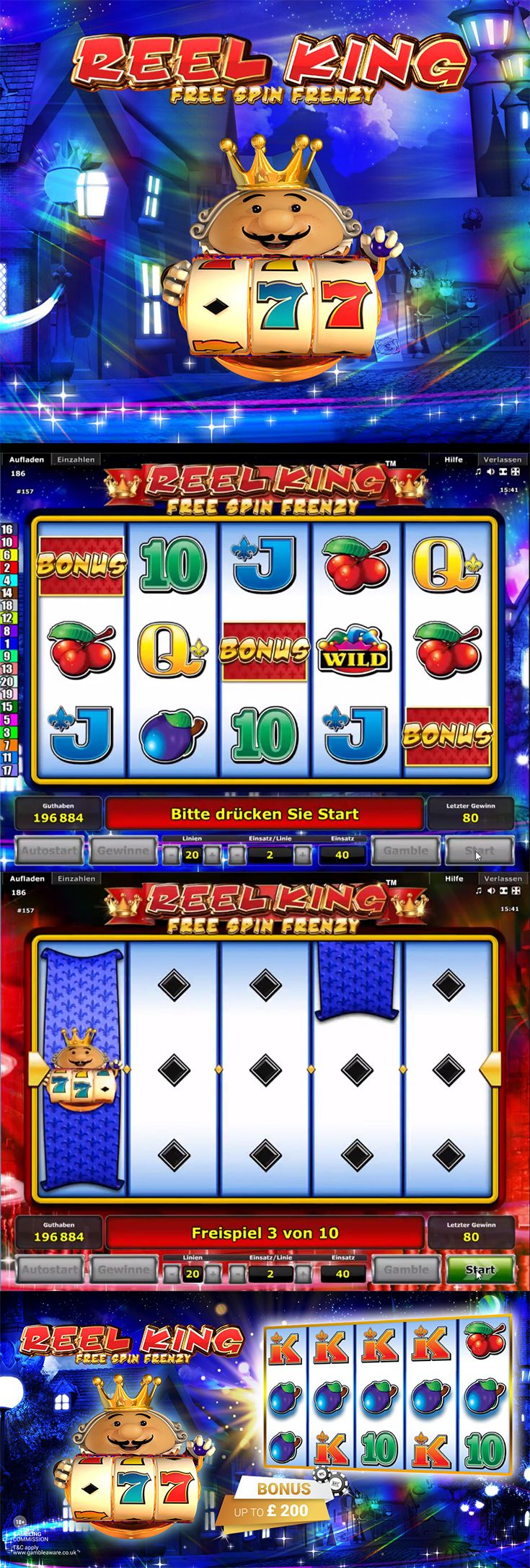 Bell Fruit Casino introduces Reel King Free Spins Frenzy