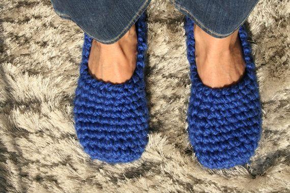 447ca6eef64bd ROYAL BLUE slippers for women - Footwear - Ballet flats - Handmade ...