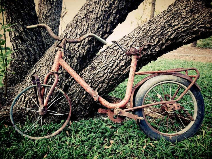 #Others see an old bike..I see beauty ♥
