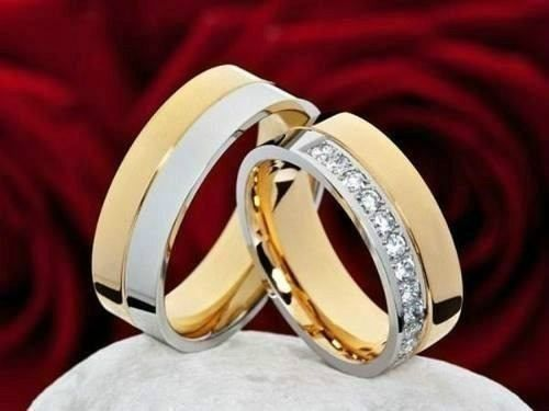 alianzas- bodas- matrimonios- acero--enchapados-san valentin