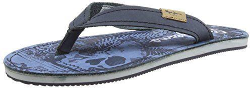 Pepe Jeans London FRED PANTER, Herren Zehentrenner, Blau (585MARINE), 43 EU - http://autowerkzeugekaufen.de/pepe-jeans/pepe-jeans-london-fred-panter-herren-blau-43-eu