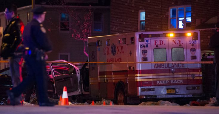 By MARCH 16, 2017 One member of New York City's emergency medical services was killed and another critically injured when a man stole their ambulance and ran them over in the Bronx on Thursday night, the authorities said. The police said the episode happened around 7:10 p.m. at the #–, #Ambulance, #Bronx, #City, #E.M.T., #In, #Is, #Killed, #New, #The, #Theft, #Times, #York