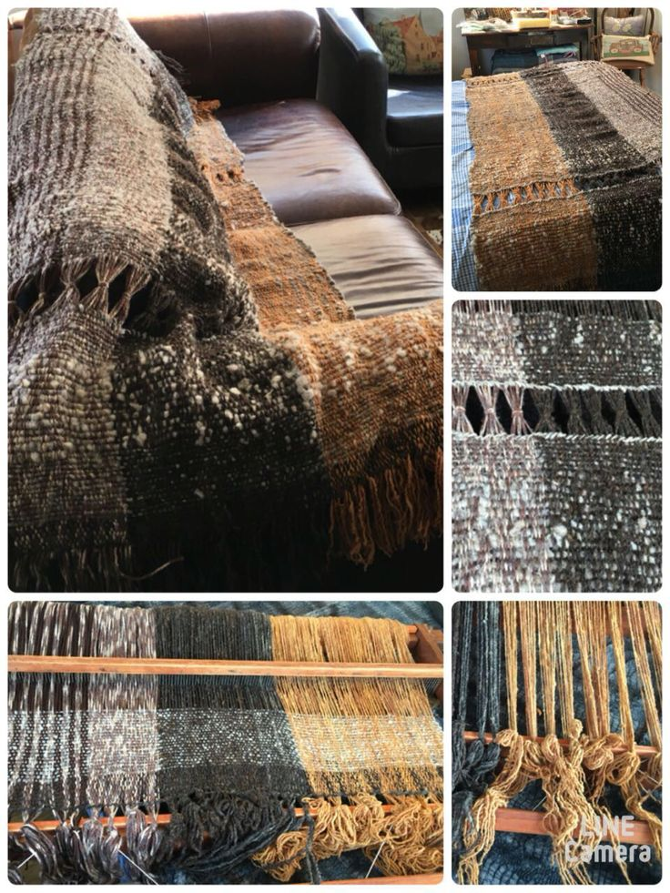 Pie de cama en telar mapuche. CLP 100.000 de Tilonka Lanas