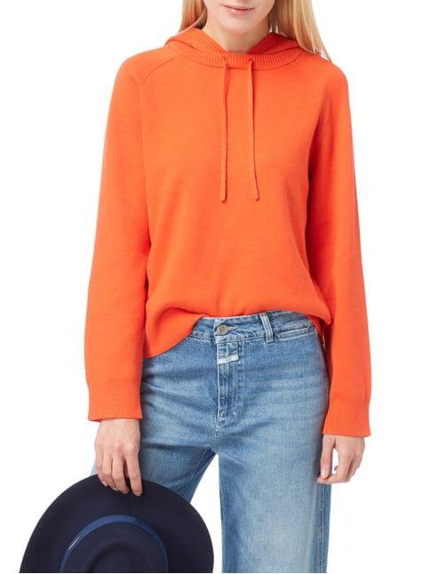 Marc O'Polo Pullover mit Kapuze Orange - 1