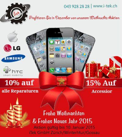 Professionelle Iphone-Reparaturen in Zürich, Winterthur und Gossau bei iTek  schnell und günstig
