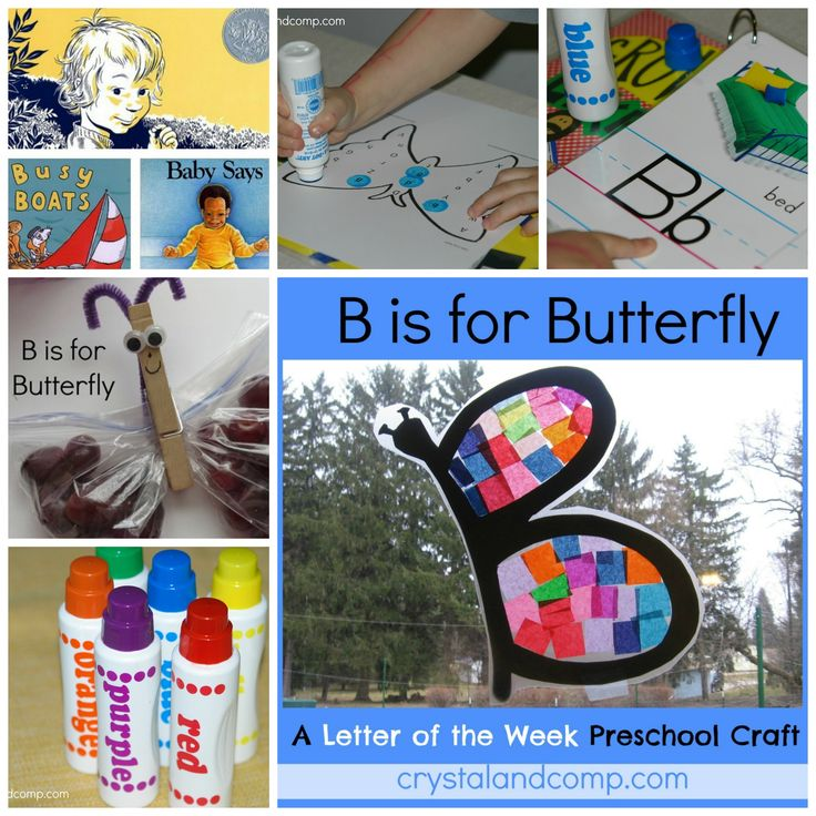 Preschool Letter of the Week Crafts - Tons of suggestions on ways to help your kids learn