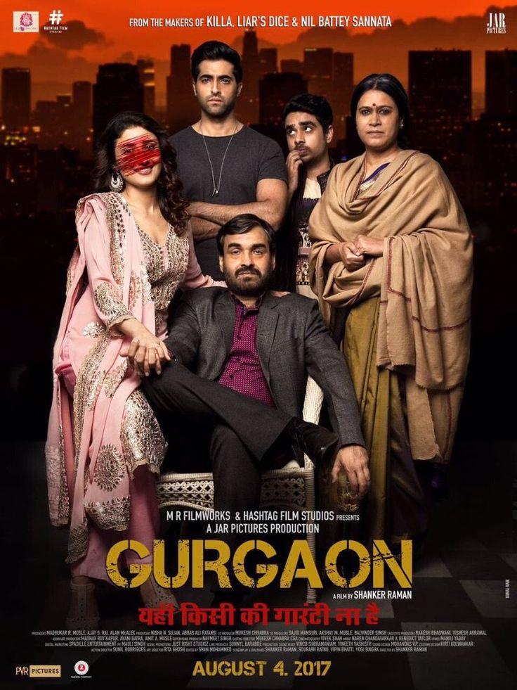 "Check out the Official Trailer of ""Gurgaon"" Starring Pankaj Tripathi, Akshay 0beroi & Ragini khanna..."