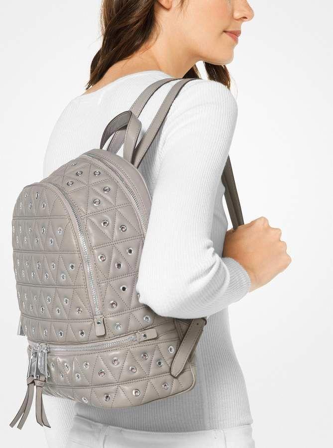 dff1ecc311561 MICHAEL Michael Kors Rhea Grommeted Leather Backpack  Handbagsmichaelkors