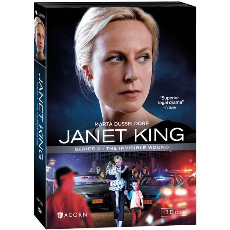 Janet King: Series 2: The Invisible Wound Award-winning actress Marta Dusseldorp (A Place to Call Home, Jack Irish) returns as brilliant senior crown prosecutor Janet King in this enthralling Australian legal drama. In Series 2, Janet remains devastated by the unsolved murder of her partner, Ash, two years earlier. Her professional life is no less challenging, as the attorney general tasks Janet with heading a royal commission into serious firearm crime.