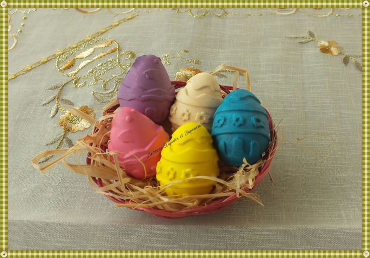 Kokulu taş paskalya yumurtaları