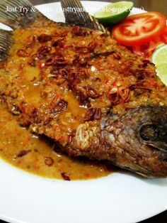 Just Try & Taste: Pecak Ikan Gurame